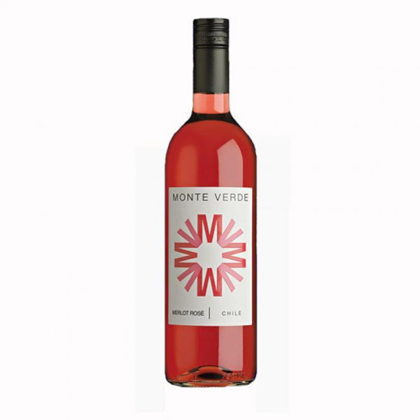 Grocery Delivery London - Monte Verde Merlot Rose - Chile 750ml same day delivery