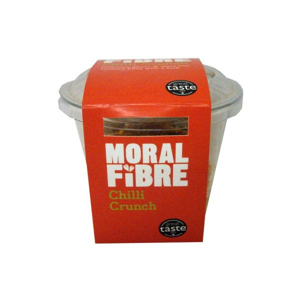Grocery Delivery London - Moral Fibre Chilli Crunch 30g same day delivery