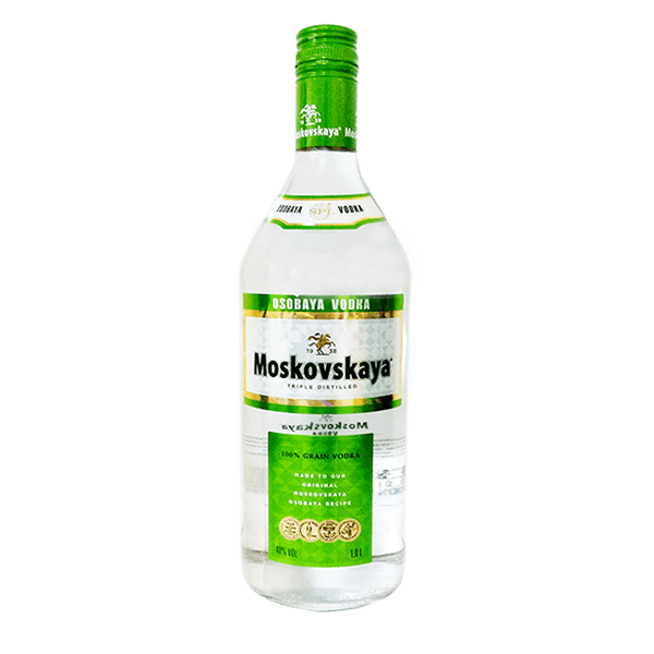 Grocery Delivery London - Moskovskaya Osobaya Vodka 700ml same day delivery