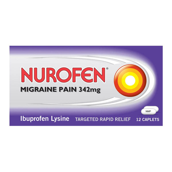 Grocemania Grocery Delivery London| Nurofen Migraine Pain 342mg