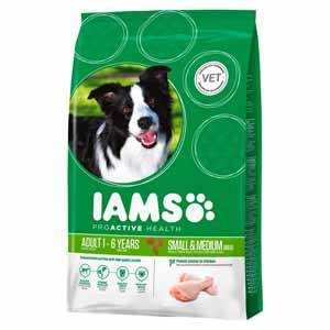Grocemania Grocery Delivery London| Iams Cat Food Adult Chicken 1kg