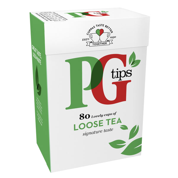 Grocery Delivery London - PG Tips Blended Loose 80 Cups same day delivery