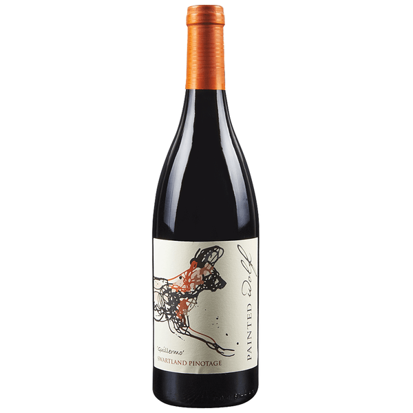 Grocemania Grocery Delivery London| Painted Wolf Guillermo Swartland Pinotage - South Africa 750ml