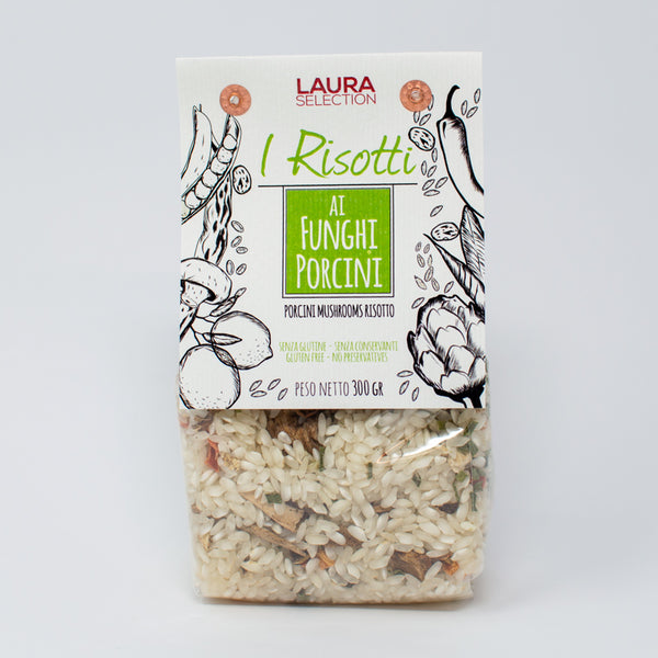 Grocery Delivery London - Laura Selection Porcini Mushroom Risotto 300g same day delivery