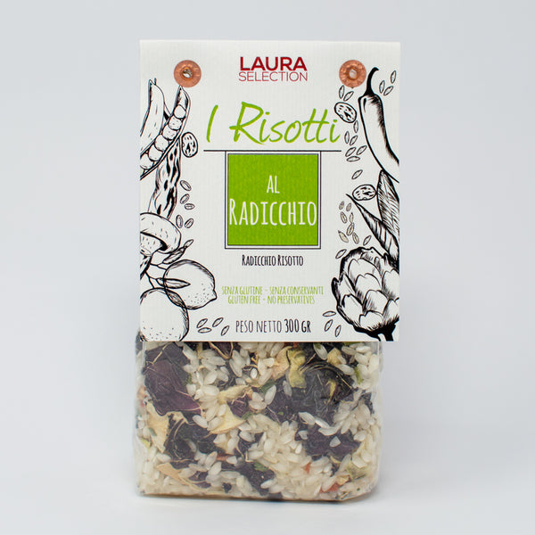 Grocery Delivery London - Laura Selection Radicchio Risotto 300g same day delivery