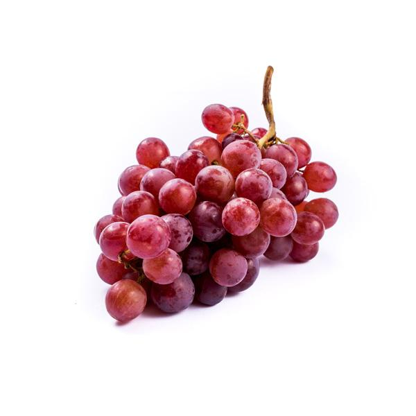 Grocery Delivery London - Red Seedless Grapes 500g same day delivery