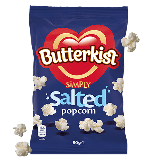 Grocery Delivery London - Butterkist Sweet & Salted Popcorn 80g same day delivery