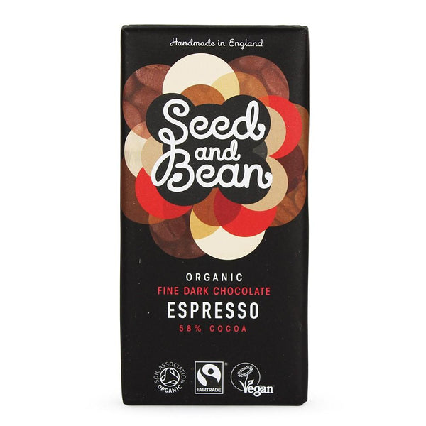Grocemania Grocery Delivery London| Seed & Bean Organic Dark Chocolate - Espresso 85g