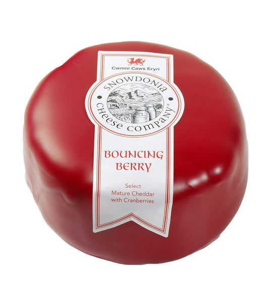 Grocemania Grocery Delivery London| Snowdonia Cheese - Bouncing Berry 200g