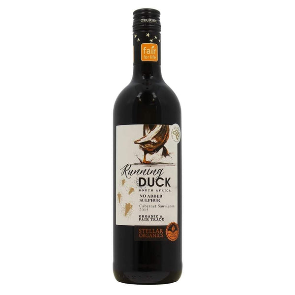 Grocemania Grocery Delivery London| Stellar Organics Running Duck Cabernet Sauvignon - South Africa 750ml