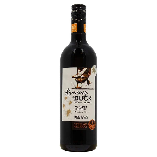 Grocery Delivery London - Stellar Organics Running Duck Pinotage - South Africa same day delivery