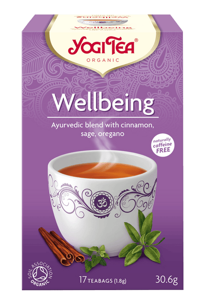 Grocery Delivery London - Yogi Tea Wellbeing 17 bags same day delivery