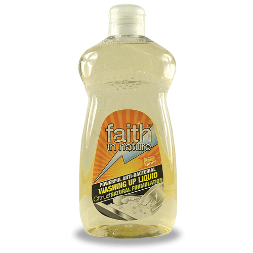 Grocery Delivery London - Faith in Nature Washing up Liquid 500ml same day delivery