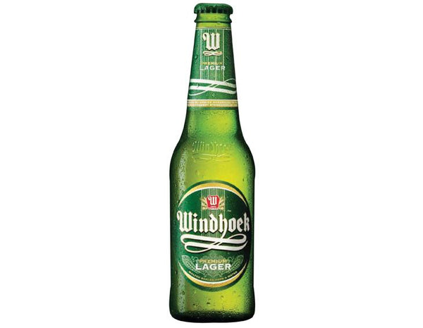 Grocemania Grocery Delivery London| Windhoek Lager - Namibia 330ml