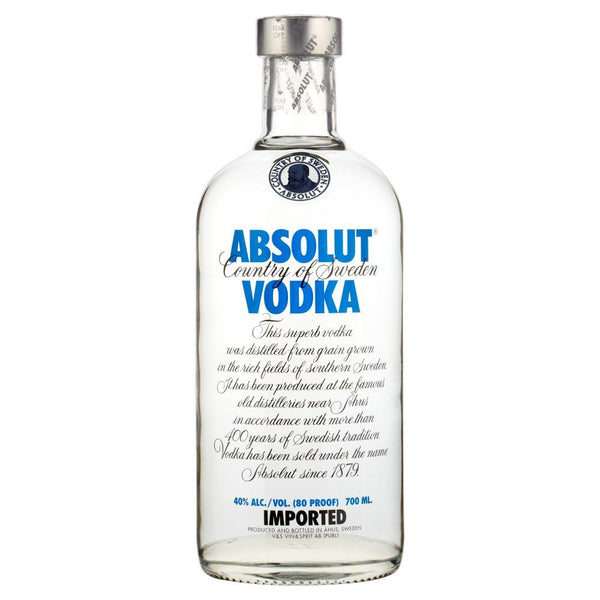 Grocemania Grocery Delivery London| Absolut Vodka 70cl