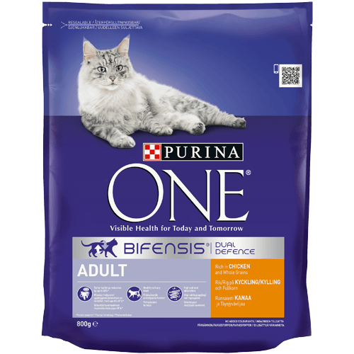 Grocemania Grocery Delivery London| Purina One Chicken/Whole Grains 800g