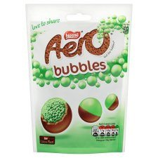 Grocery Delivery London - Aero Peppermint Bubbles Pouch 113g same day delivery