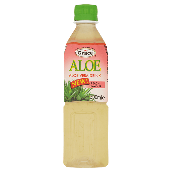 Grocemania Grocery Delivery London| Grace Aloe Vera Drink 500ml