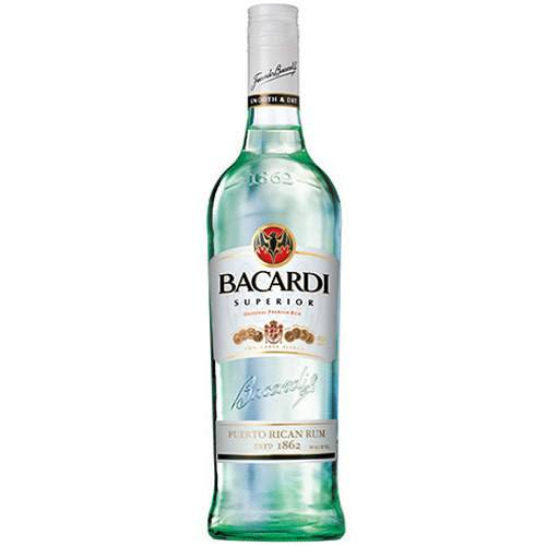 Grocery Delivery London - Bacardi Carta Blanca Rum 70cl same day delivery