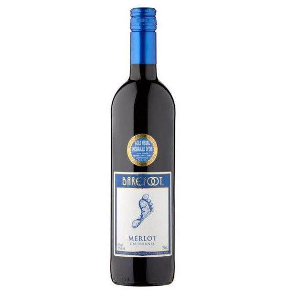 Grocery Delivery London - Barefoot Merlot 750ml same day delivery