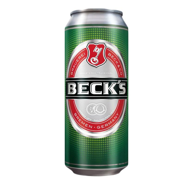 Grocemania Grocery Delivery London| Becks Beer 500ml