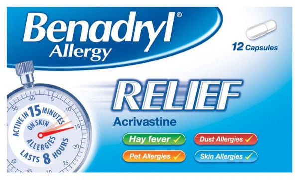 Grocery Delivery London - Benadryl Allergy Relief same day delivery