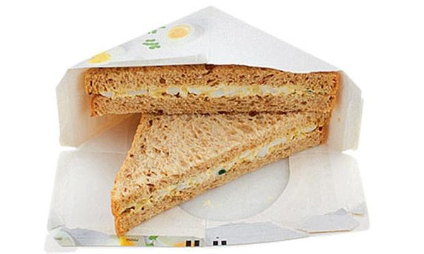Grocemania Grocery Delivery London| Egg and Cress - On Malted Bread with Mayo - Vegetarians 2pc