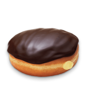Grocery Delivery London - Boston Cream Flake Donut same day delivery