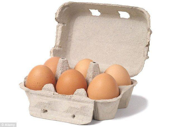 Grocery Delivery London - Organic Eggs 6 pk same day delivery