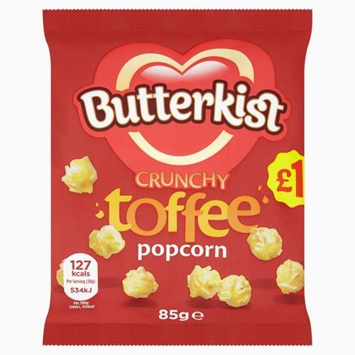 Grocemania Grocery Delivery London| Butterkist Toffee Popcorn 85g