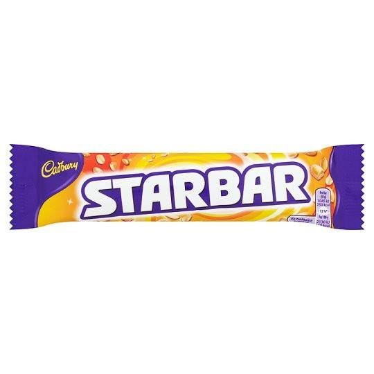 Grocemania Grocery Delivery London| Cadbury Star Bar 52g