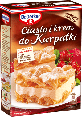 Grocery Delivery London - Dr. Oetker Ciasto i Krem do Karpatki same day delivery