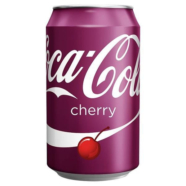 Grocery Delivery London - Coca-Cola Cherry 330ml same day delivery