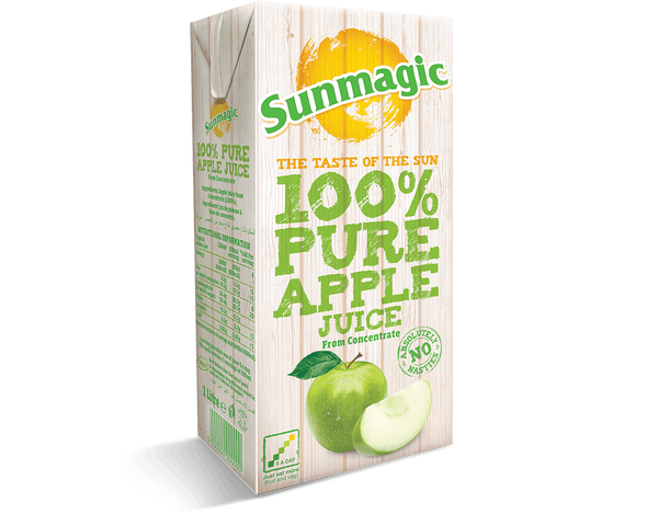 Grocery Delivery London - Sunmagic Apple Juice 1L same day delivery