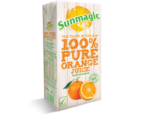 Grocery Delivery London - Sunmagic Orange Juice 1L same day delivery
