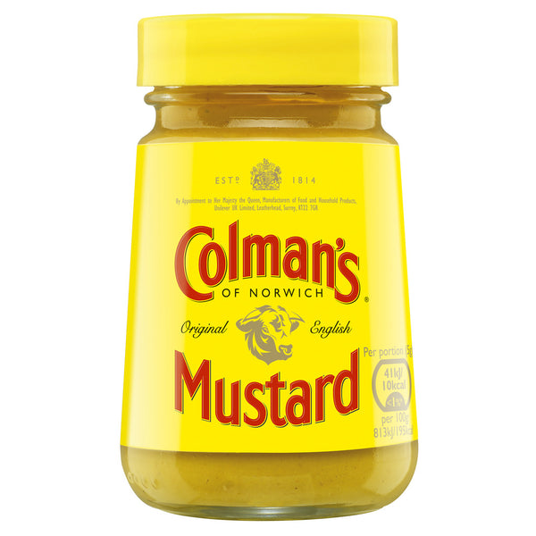 Grocery Delivery London - Colmans Original English Mustard 170g same day delivery