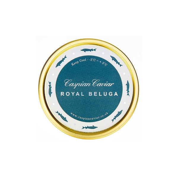 Grocery Delivery London - Beluga Caviar (HUSO HUSO) 125g same day delivery
