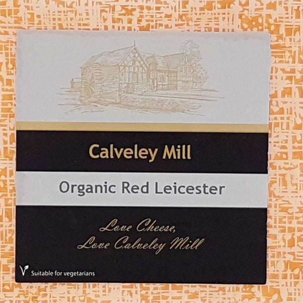 Grocery Delivery London - Calveley Mill Red Leicester Cheese 200g same day delivery