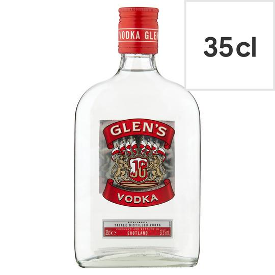 Grocery Delivery London - Glens Vodka 35cl same day delivery