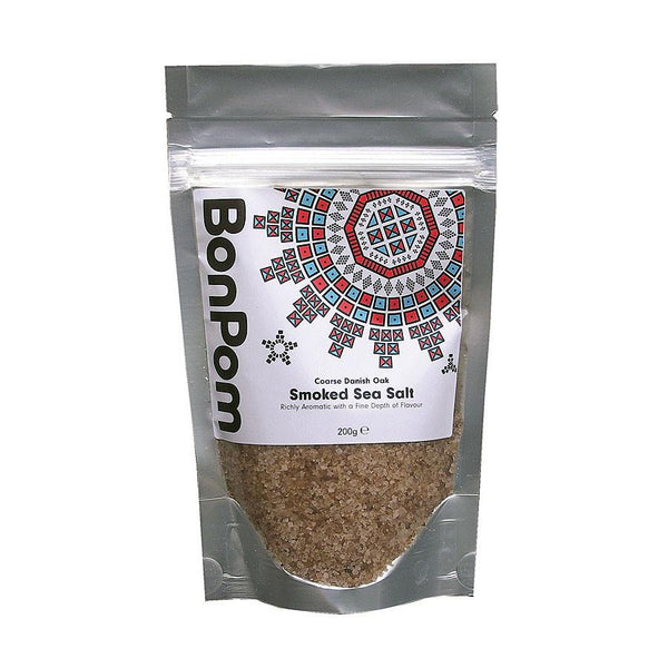 Grocemania Grocery Delivery London| BonPom Smoked Sea Salt 200g