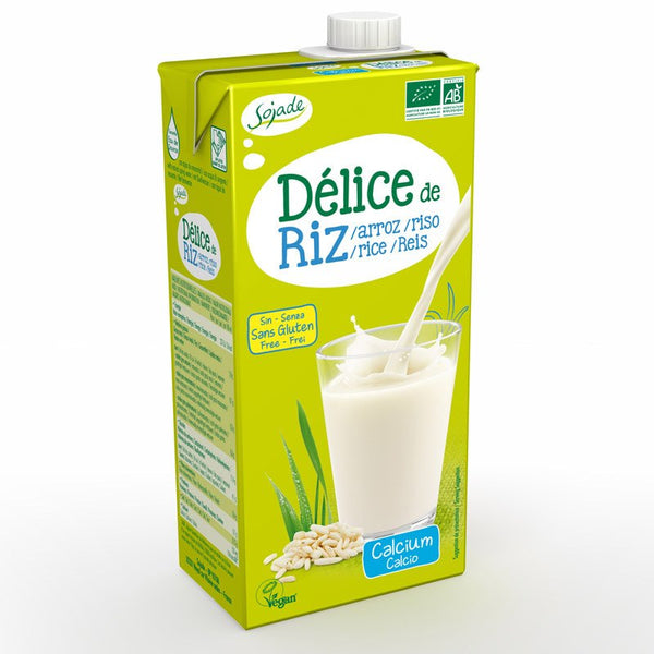 Grocery Delivery London - Sojade Rice Drink Calcium 1L same day delivery