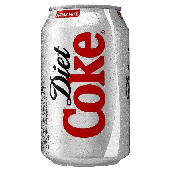 Grocery Delivery London - Diet Coke 330ml same day delivery