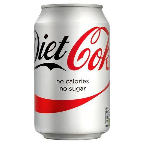 Grocery Delivery London - Diet Coca-Cola 330ml same day delivery