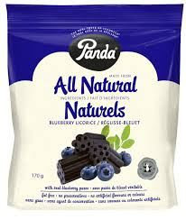 Grocemania Grocery Delivery London| Natural Blueberry Liquorice 200g