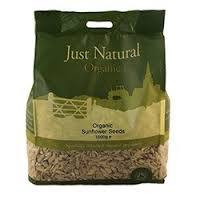Grocemania Grocery Delivery London| Just Natural Organic Sunflower Seeds 1kg