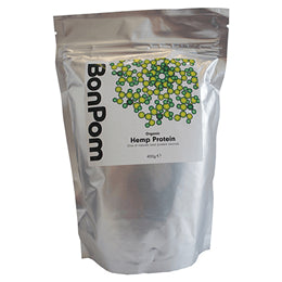 Grocemania Grocery Delivery London| BonPom Organic Hemp Protein 400 g