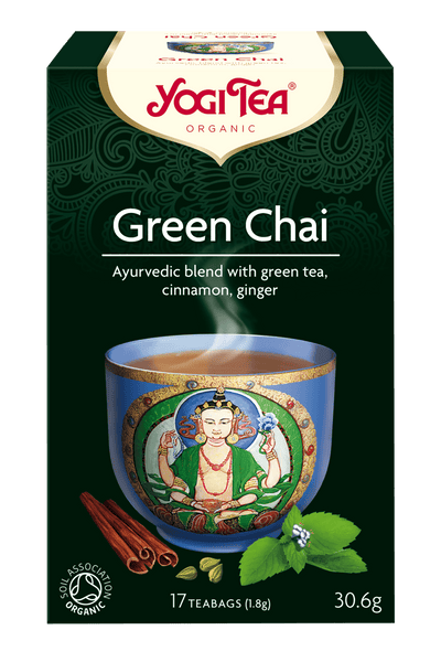 Grocery Delivery London - Yogi Tea Green Chai 17 bags same day delivery