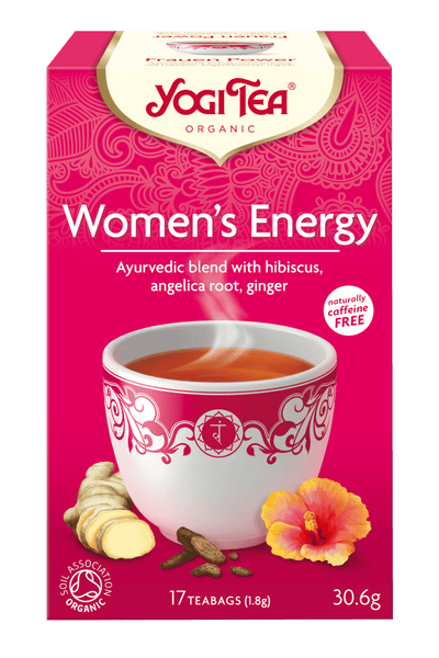 Grocery Delivery London - Yogi Tea Women's Energy 17 bags same day delivery