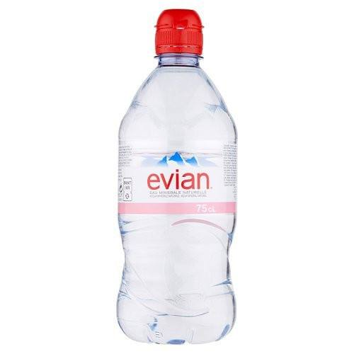Grocery Delivery London - Evian Water 75cl same day delivery