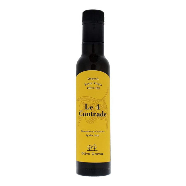 Grocery Delivery London - Le 4 Contrade - EV Olive Oil Coratina Organic 500ml same day delivery